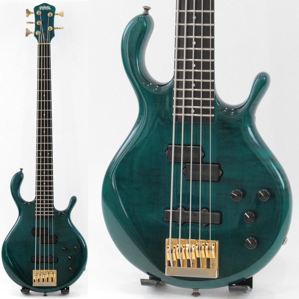 Pedulla MVP 5-String Peacock Blue 5弦 エレキベース 【中古】