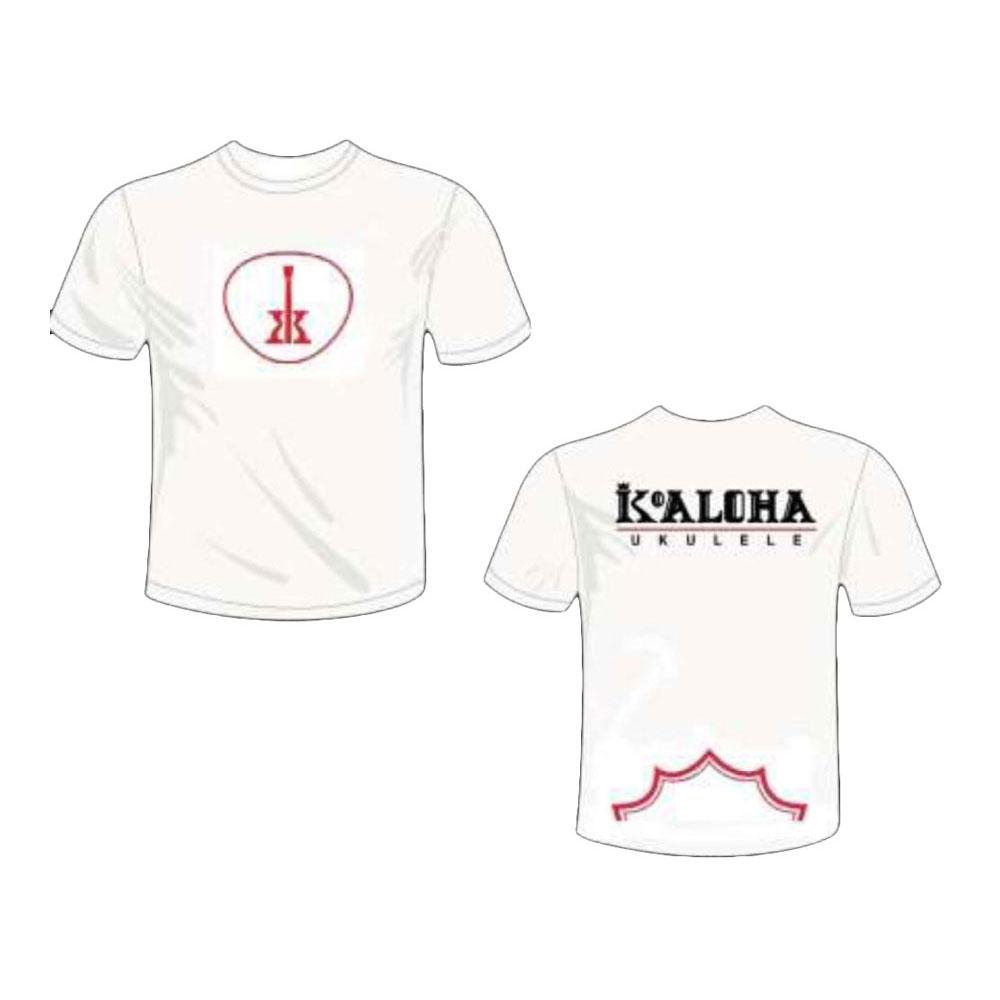 KoAloha Logo T-Shirt WHITE Mサイズ