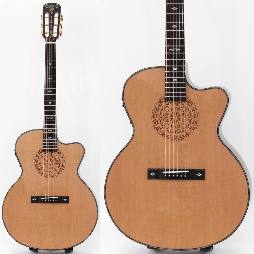 ARIA SP-CST/J N The Sandpiper エレクトリックアコースティックギター