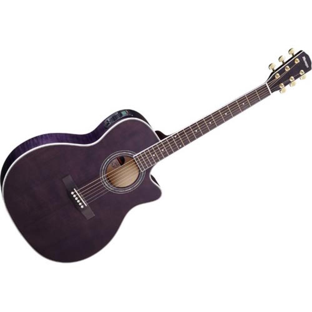 MORRIS R-601 SBK エレクトリックアコースティックギター