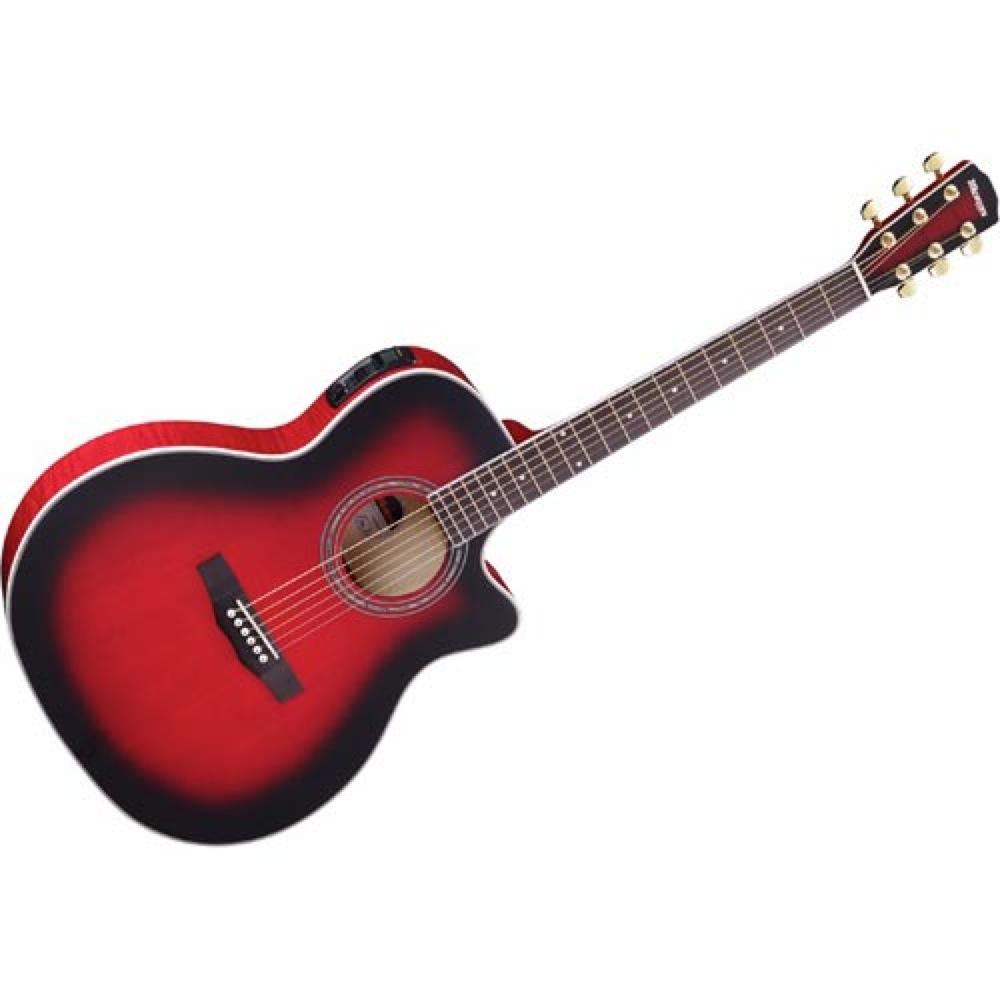 MORRIS R-601 SRB エレクトリックアコースティックギター