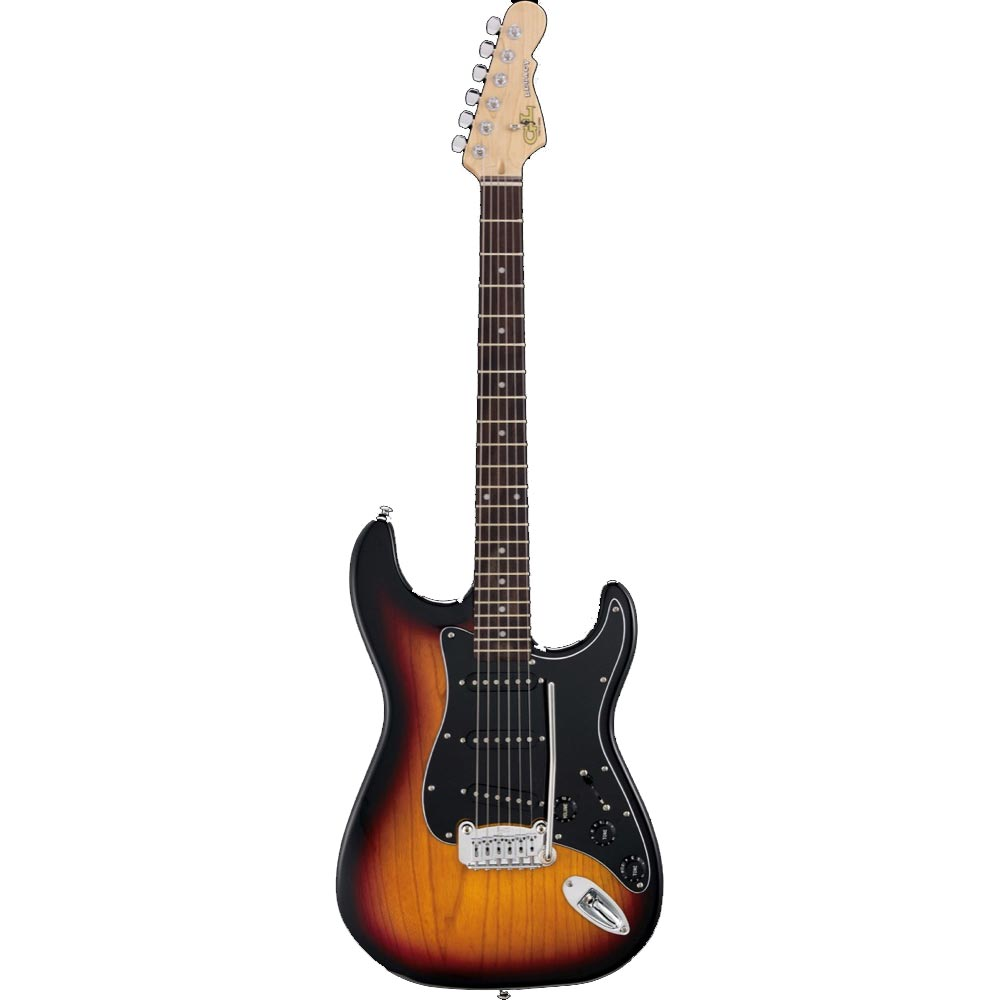 G&L Tribute Series Legacy 3-Tone sunburst エレキギター