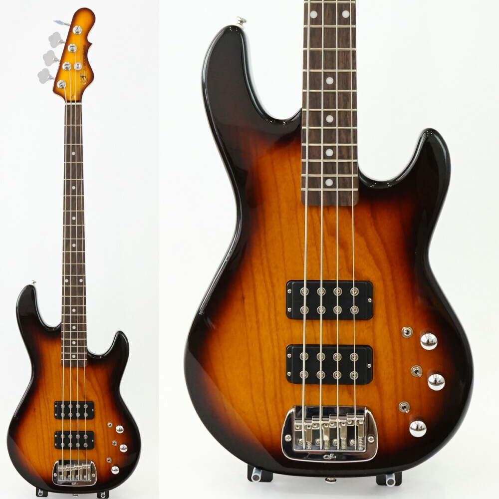 G&L Tribute Series L-2000 Tobacco Sunburst エレキベース