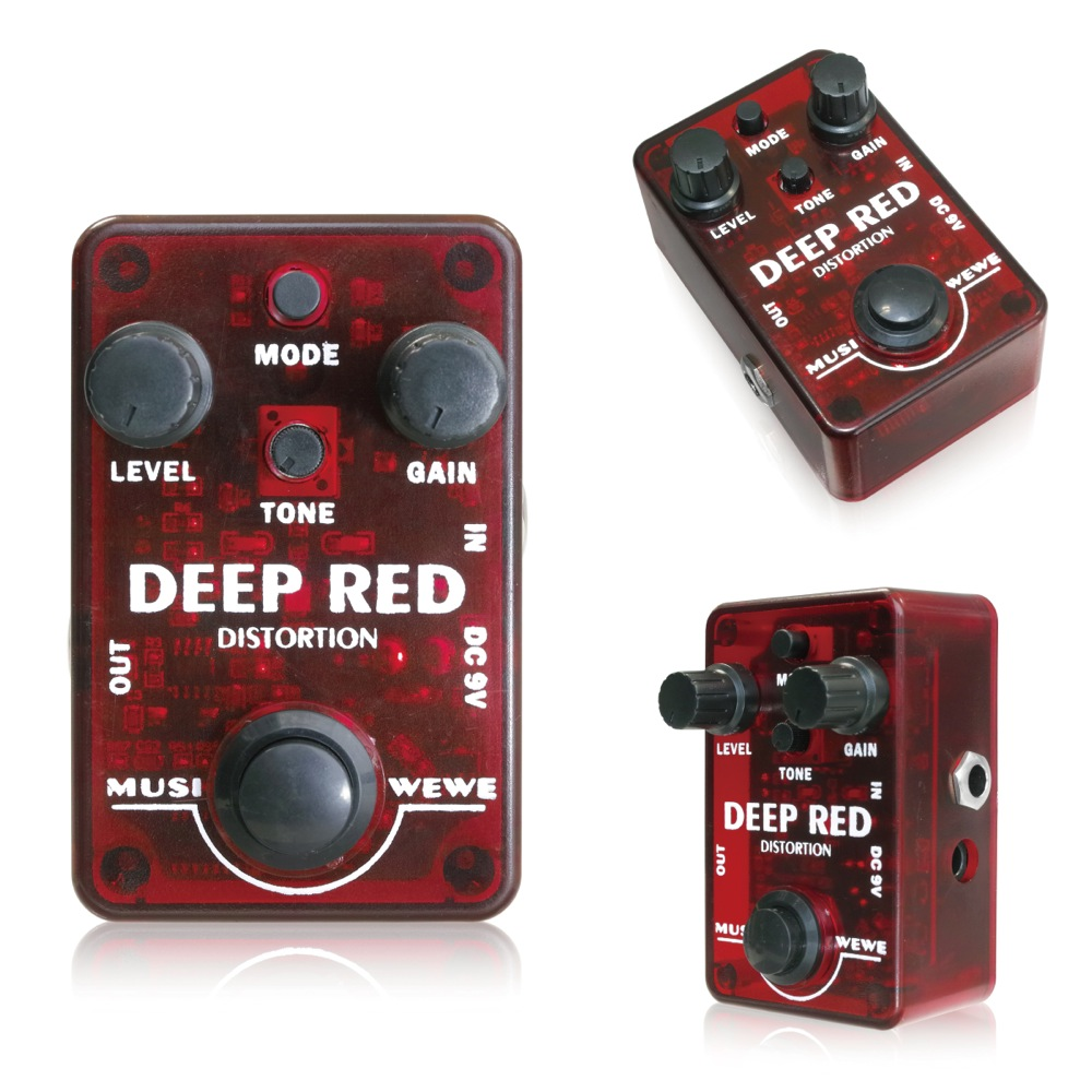 SKS Audio Musiwewe Deep Red Distortion エフェクター