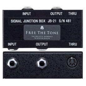 Free The Tone JB-21 Signal Junction Box ジャンクションボックス