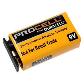 Duracell Procell PRO-9V 9V形 アルカリ乾電池