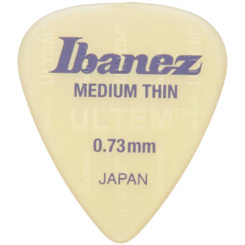 IBANEZ UL14MT073 0.73mm Medium Thin ピック×10枚