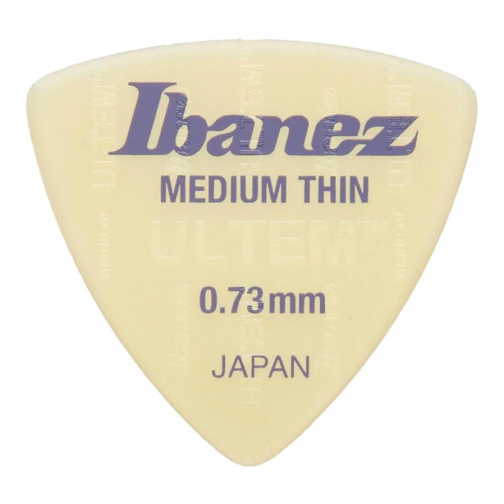 IBANEZ UL8MT073 0.73mm Medium Thin ピック×10枚