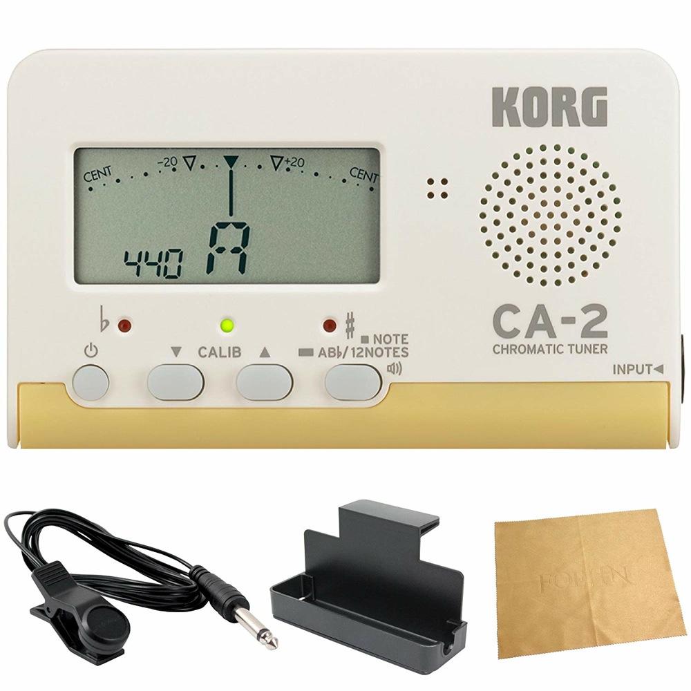 KORG CA-2 クロマチックチューナー 管楽器 吹奏楽 入門用4点セット