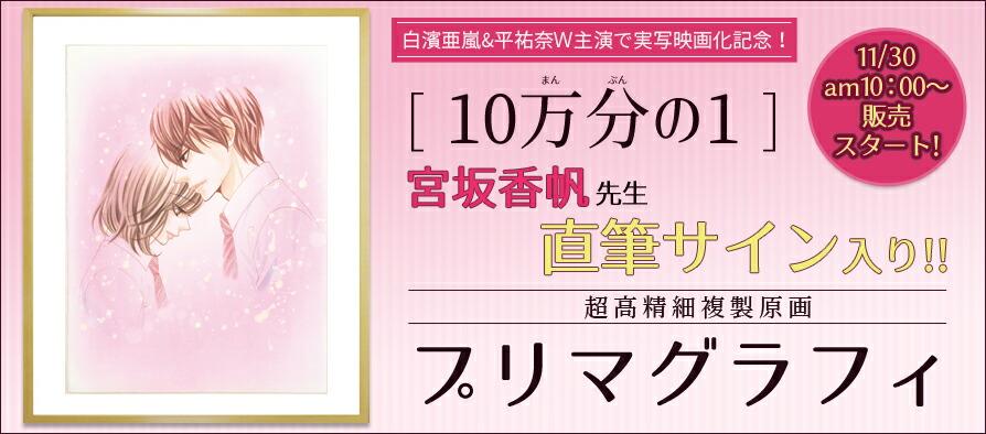 宮坂香帆10万分の1プリマグラフィ