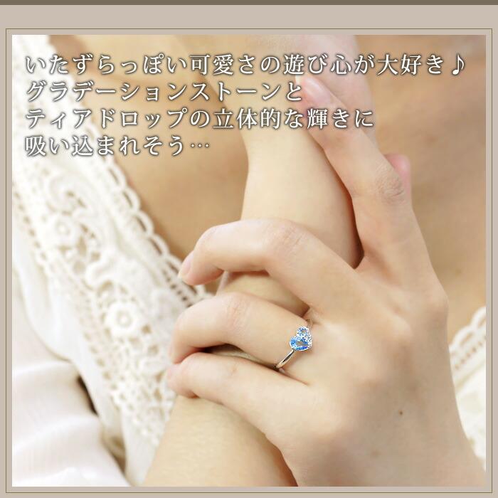 bc04d9e395 11月誕生石 天然ブルートパーズ(ペアシェイプ/ラウンド)ダイヤモンド ...