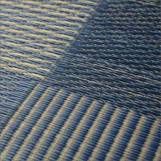 い草 ラグ デニム 176×230 イ草 アメリカン
