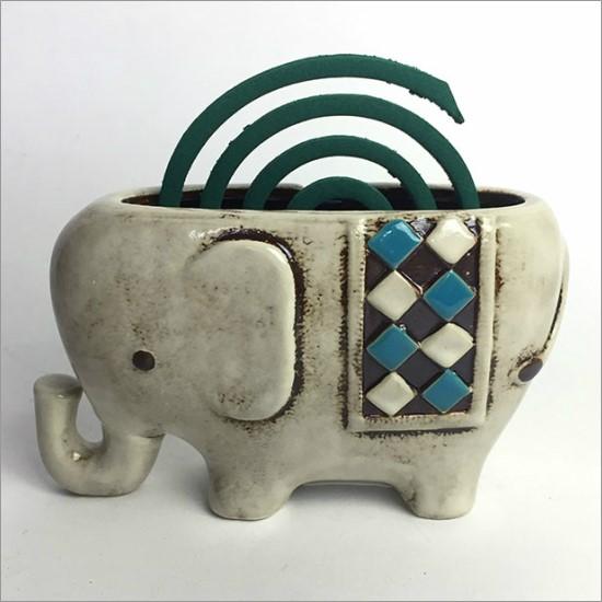 風鈴 アジアン かわいい おしゃれ 陶器 ゾウ