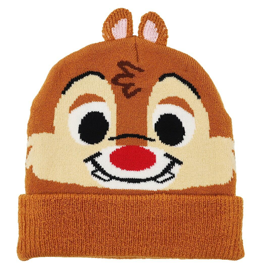 チップ&デール 子供用毛糸帽子
