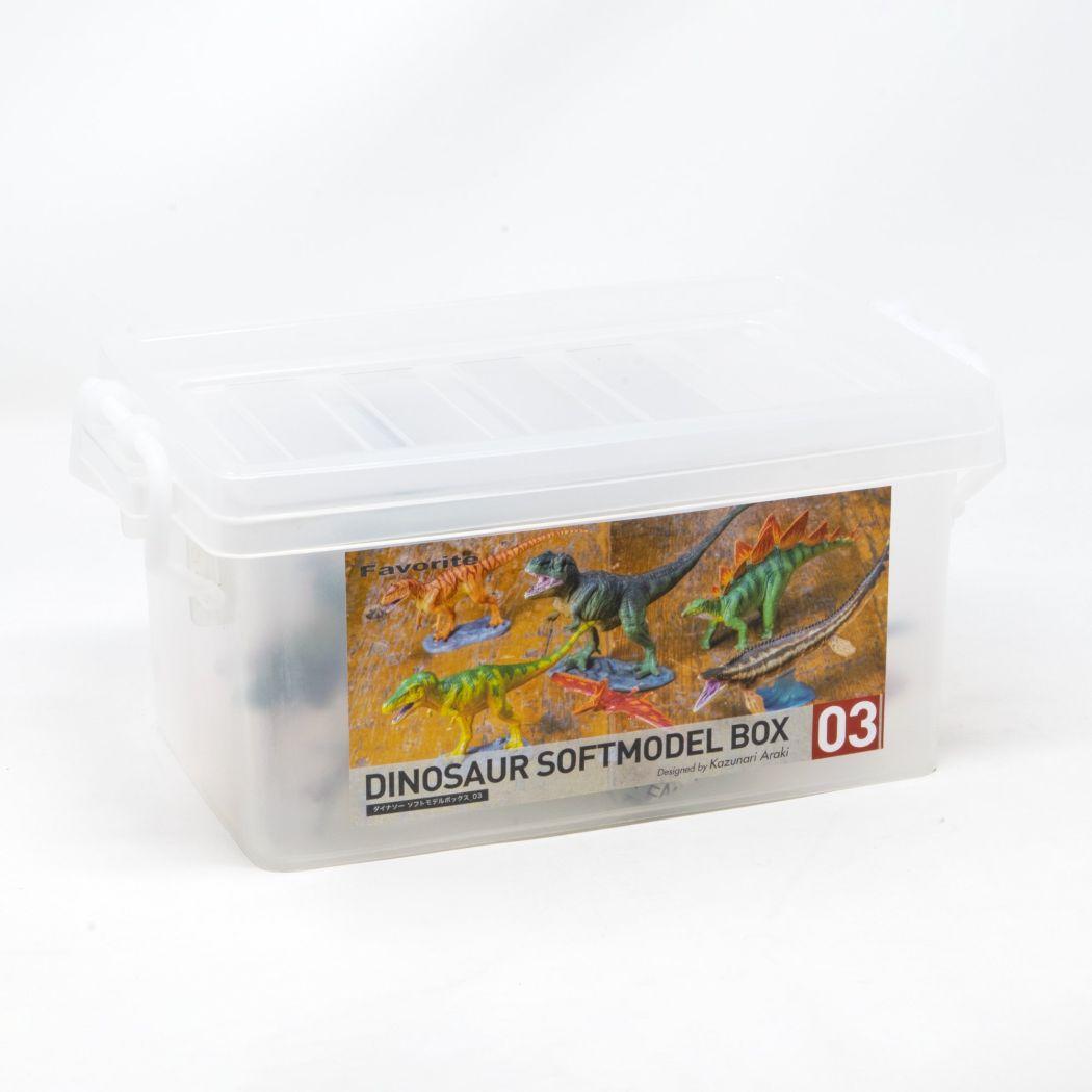 コレクションBOX 恐竜 ソフトモデル6体ボックス