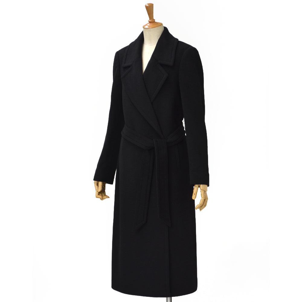 TAGLIATORE【タリアトーレ】ロングチェスターコート MOLLY 35058 N3475 cashmere BLACK(ブラック)
