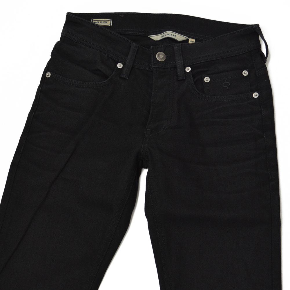 SIVIGLIA【シヴィリア/シビリア】ブラックデニム 22A2/S410/9001/9 cotton strech BLACK(ブラック)