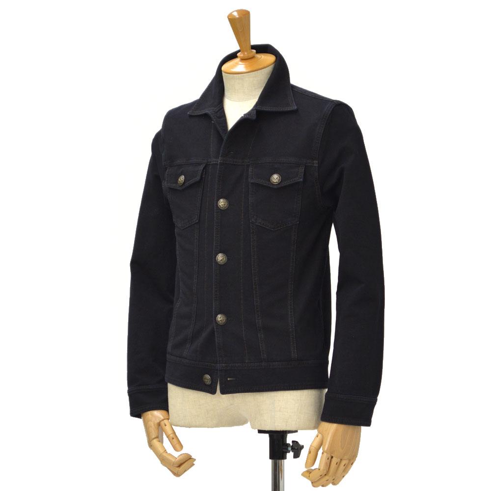 CIRCOLO 1901【チルコロ】Gジャン 5CU124919 cotton BLACK DENIM(ブラックインディゴ)