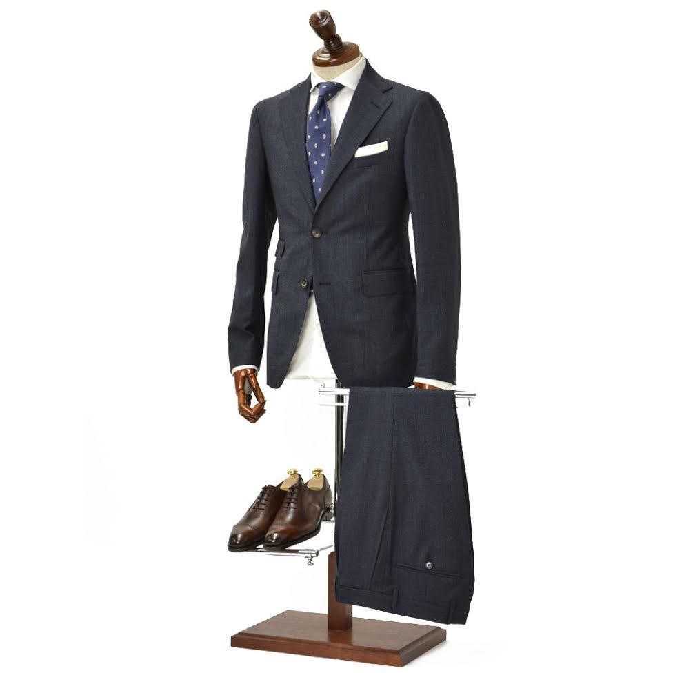先行販売 早得 【袖修理無料】TAGLIATORE【タリアトーレ】シングルスーツ 2SVJ22D11 06UIA194 I1068 ヴェスビオ ヴァージンウール スーパー110'S インディゴ