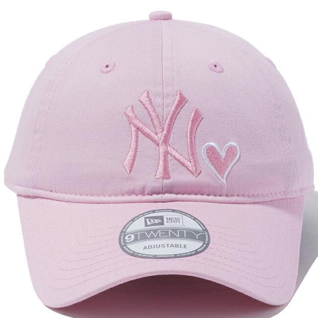 【楽天市場】ニューエラ 920キャップ ニューヨークヤンキース ハートロゴコレクション ピンク ホワイト New