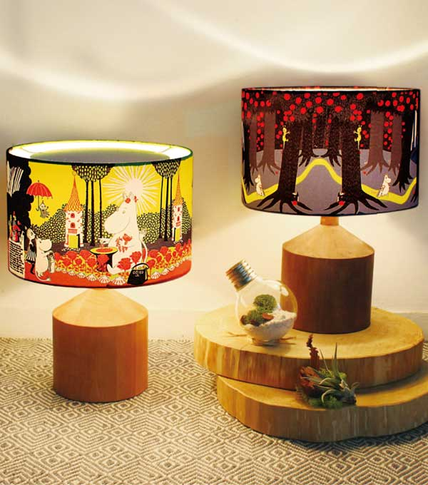 Table Lamp テーブルランプ ムーミンハウス ムーミン 【送料無料】 ディクラッセ DI CLASSE Moomin LT3716RD レッド