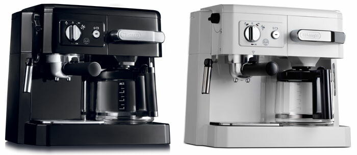 it is delonghi combination coffee maker the espresso machine which drip coffee espresso cappuccino can play white white bco410jw soot - Delonghi Espresso Machine