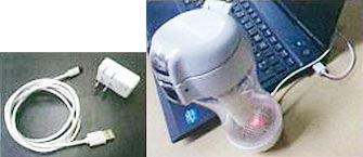 充電式 USB接続可能