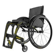 GIGANTEX社 カーボン製一体型車椅子 MF015