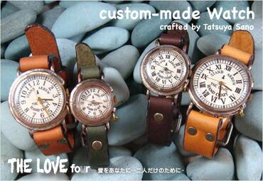 THE LOVE four セミオーダー腕時計