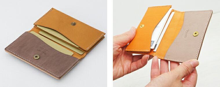 【VARCO / ヴァーコ】リアルウッド フルール カードケース