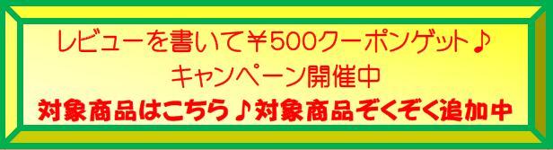 次回お買い物から使える500円クーポンプレゼント対象商品