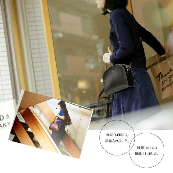 TIDEWAYの半月型のハーフムーンバッグは人気雑誌にも掲載されています