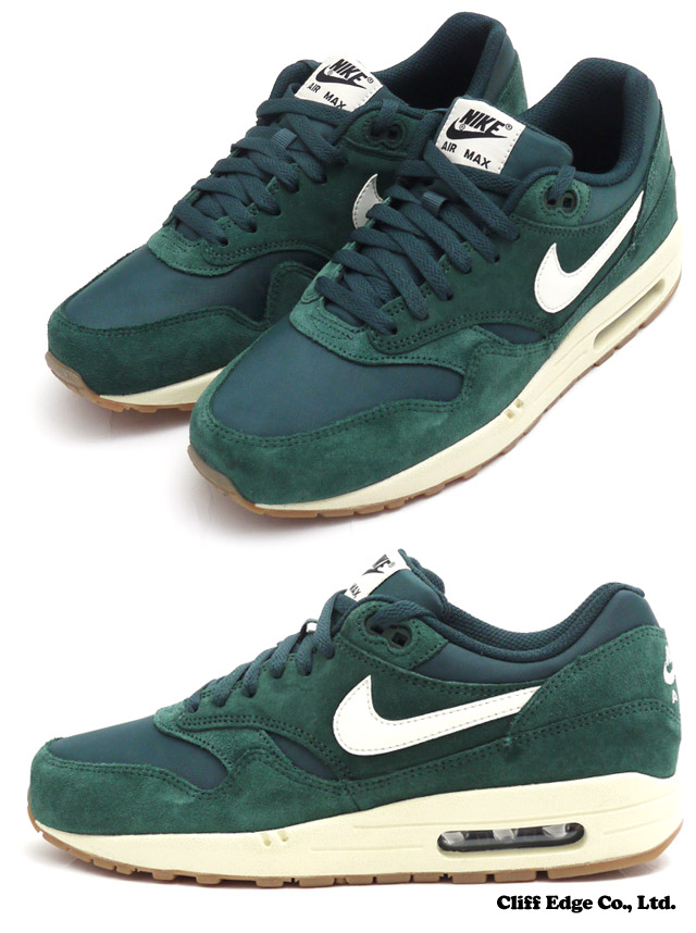 official photos 4dee0 5e8f4 ... switzerland nike air max 1 essential max sneakers shoes pro green sail  black black 8e9f7 4a379