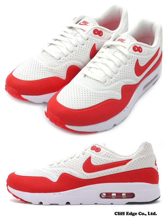 lowest price 31ffd 81e8f NIKE (Nike) AIR MAX 1 ULTRA MOIRE SUMMIT WHITE CHALLENGE RED-WHT