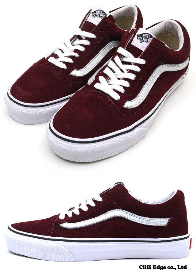cliff edge rakuten global market supreme x vans metallic old skool burgundy 291 001213 273. Black Bedroom Furniture Sets. Home Design Ideas