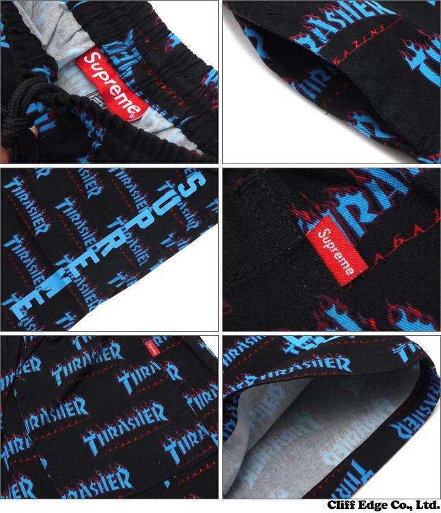 62d7b3e5983c 楽天市場 シュプリーム SUPREME x Thrasher スラッシャー Skate Short ...