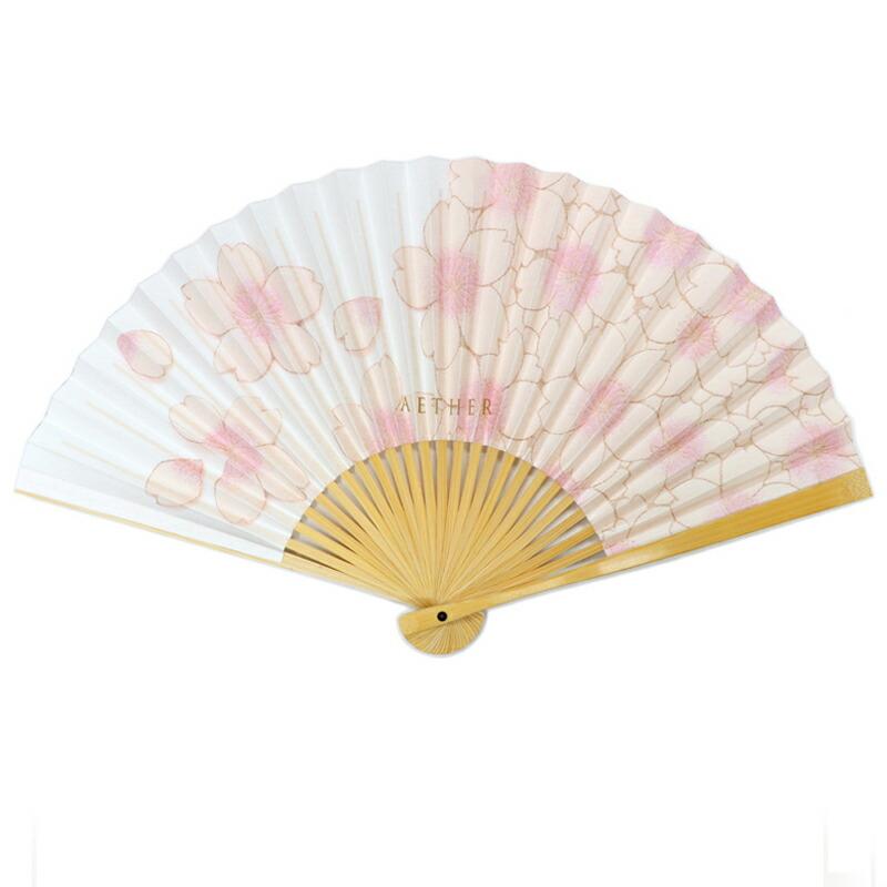 エーテルオリジナル桜柄扇子