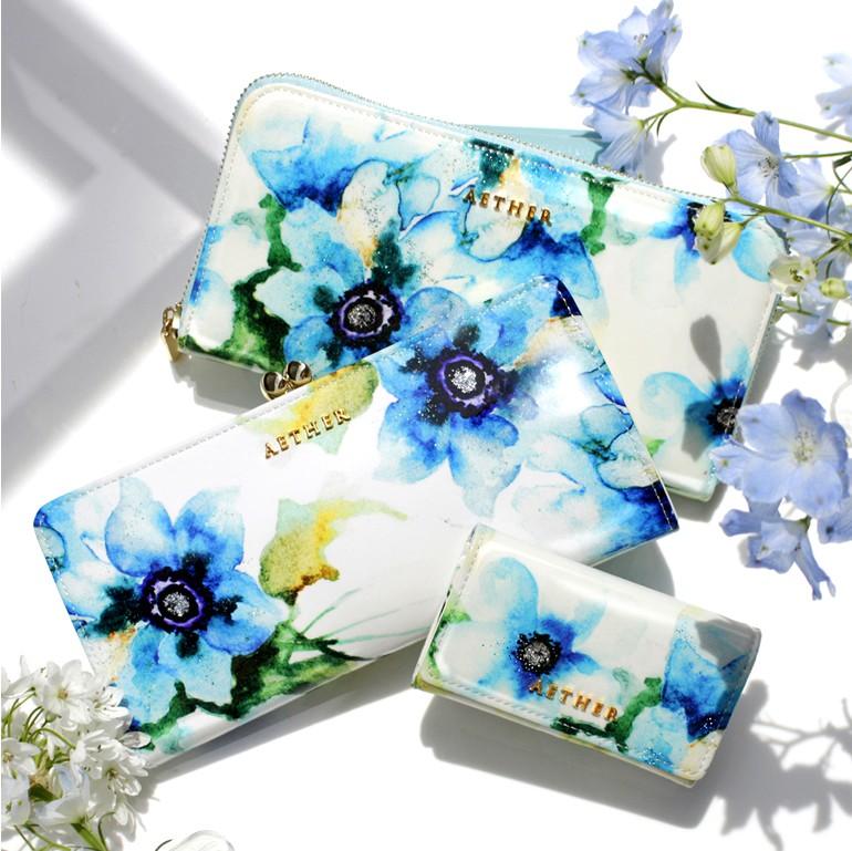 青い花柄のエトワールシリーズ