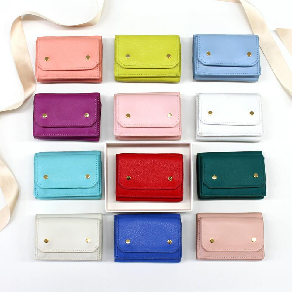 エーテル 12色の誕生石カラーがかわいいミニ財布 アミュレット