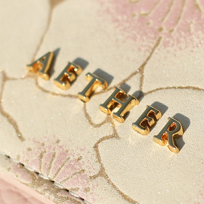 「AETHER」のオリジナルロゴプレート