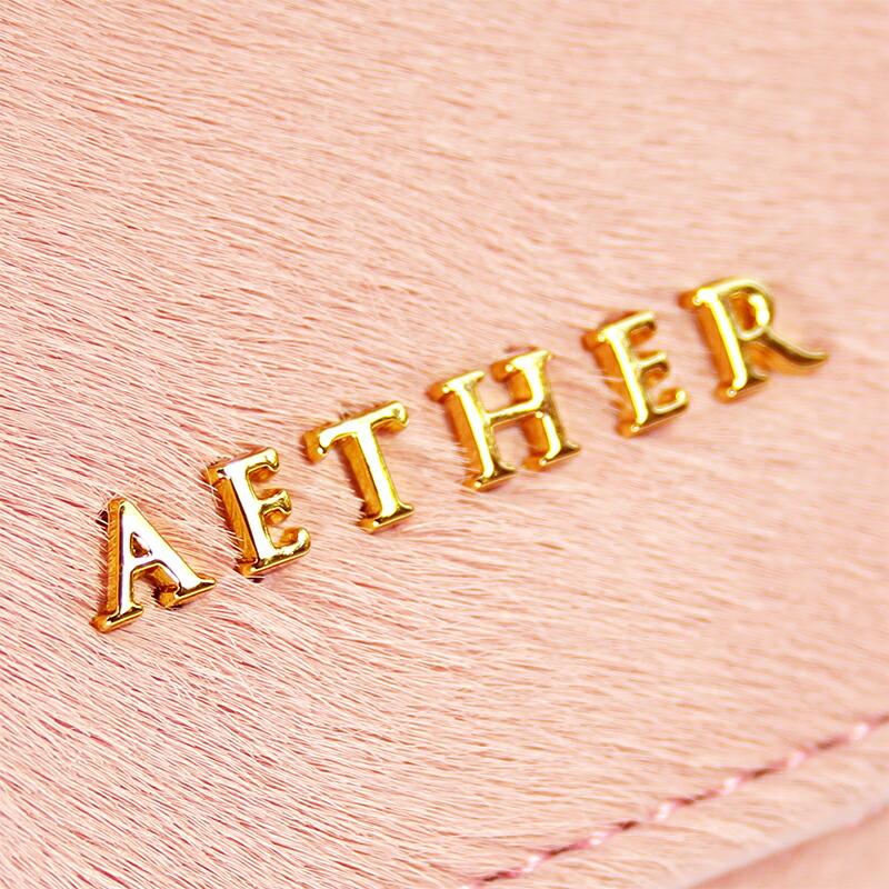 エーテル AETHERのロゴプレート