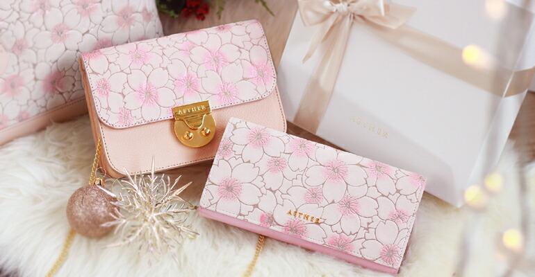 エーテル クリスマスおすすめの革財布