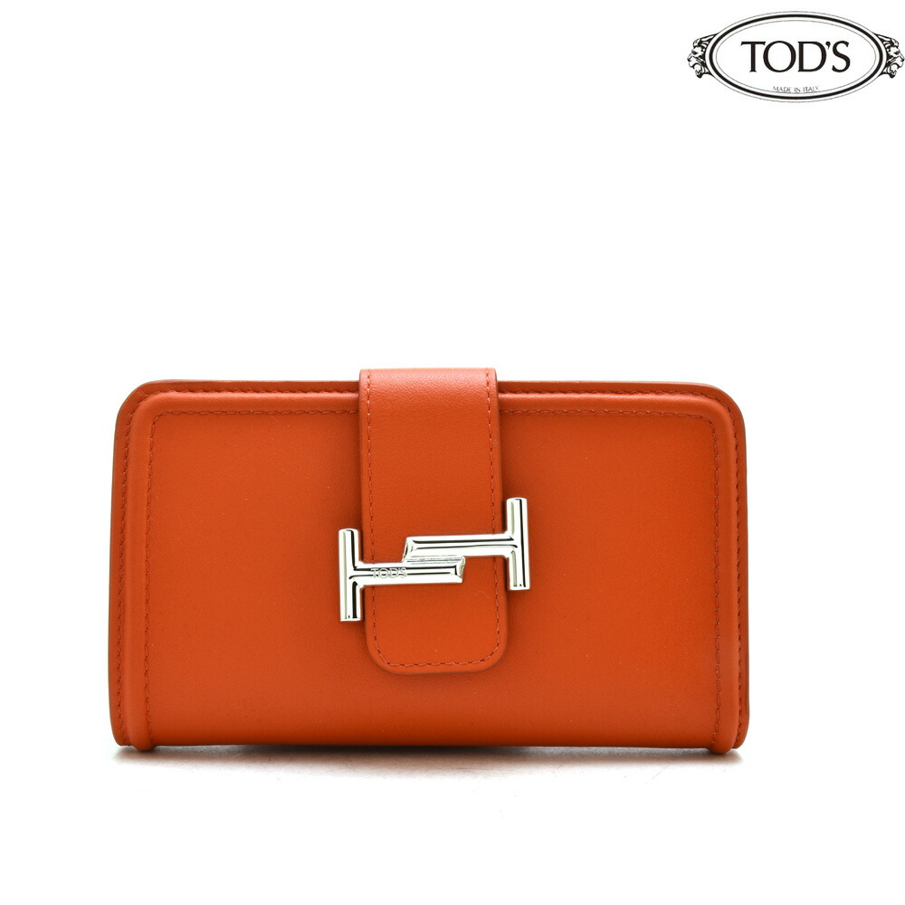 b5a9700720d8 トッズ TODS XAWDSSBL300RLX/G806 二つ折り財布 コンパクトウォレット ...