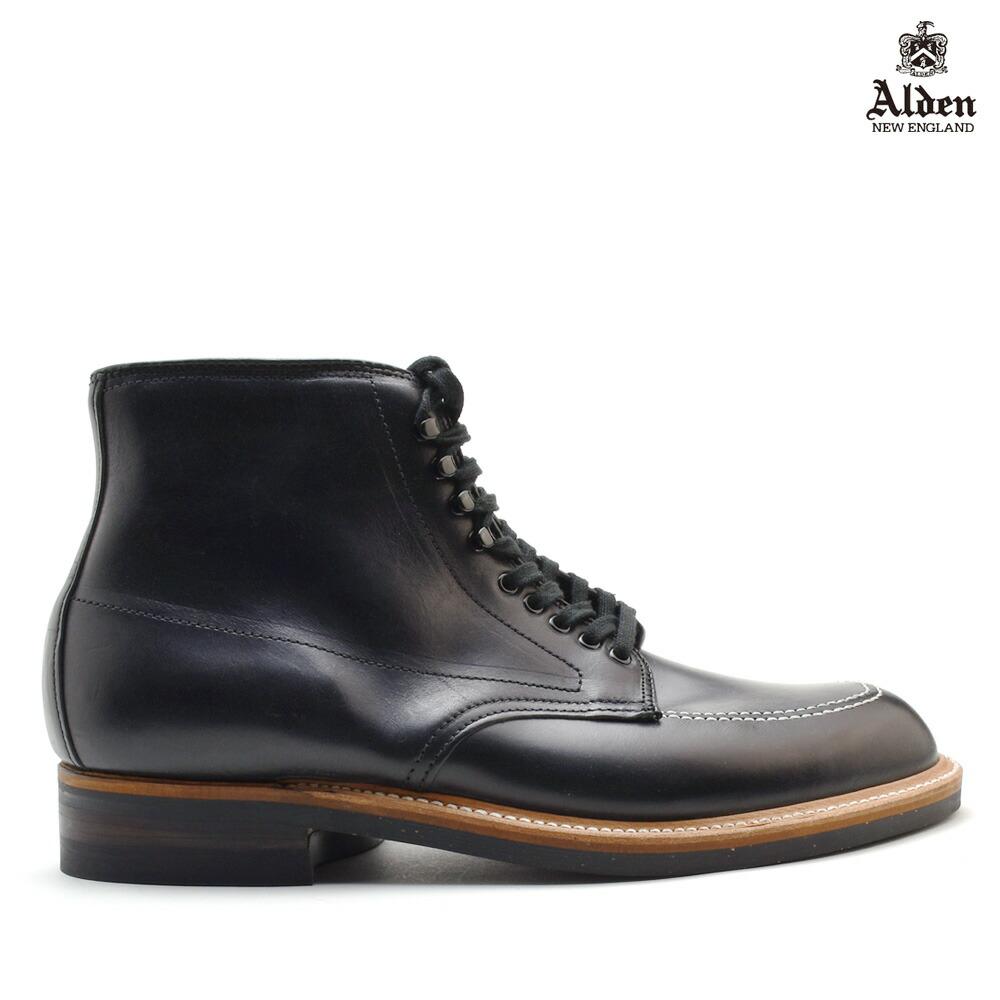 オールデン ALDEN 401 INDY BOOTS CALF インディ ブーツ カーフ メンズ ブラック BLACK ワークブーツ