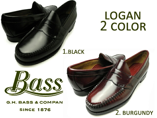 9434971075c Cloud Shoe Company  G.H BASS LOGAN BLACK BURGUNDY 490280   490264 ...