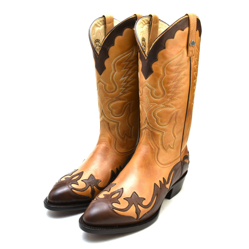 aa52419380a Cloud Shoe Company  ピストレロ PISTOLERO 2118a western boots brown ...