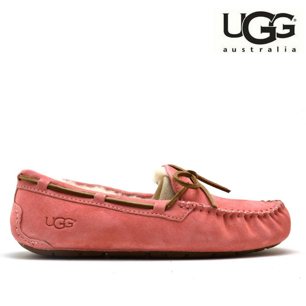 f2de2383ff1 アグ UGG 5612 DAKOTA LANTANA Dakota moccasins suede moccasins slip-ons pink  system Lady's