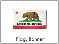アメリカンなフラッグ(旗)やバナー、タペストリーの販売。