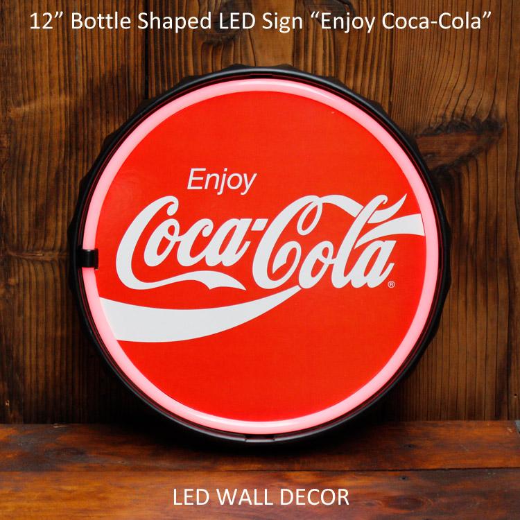 まるでネオンサイン LED ロープ バーサイン コカ・コーラ Coca-Cola 看板 #189942 壁面オブジェ アメリカ雑貨