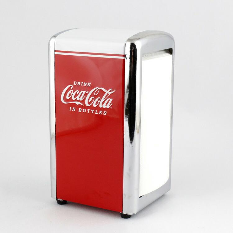 テーブル用品 コカコーラ ナプキンディスペンサー COCA-COLA キッチン雑貨 ナプキンホルダー アメリカ雑貨 アメリカン雑貨